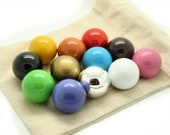20mm Individual Spare Mexican Bola Balls 12 COLOURS AVAILABLE