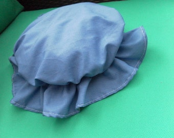 white red or blue cotton mop cap victorian markets baking cooking household