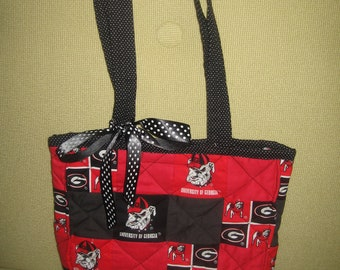 College Team Fabric Purse