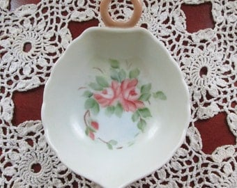 Hand Painted Porcelain trinket dish