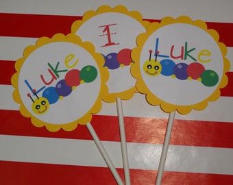 Baby Eisntein Cupcake Toppers