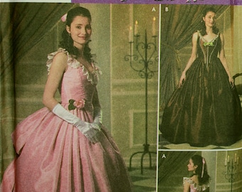 Gowns Phantom of the Opera by Andrea Schewe/Wrights Simplicity Pattern 4479  Uncut   Size 6-8-10-12, 14-16-18-20