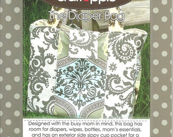 Pattern THE DIAPER BAG Pattern by Craft Apple