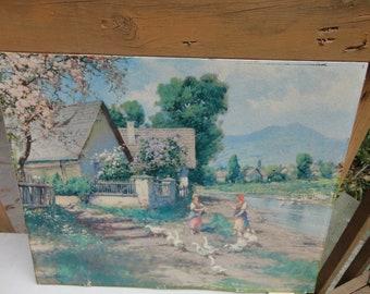 16 x 20 Cottage Print