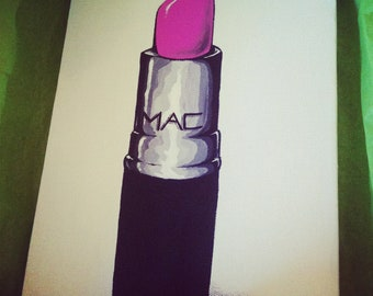 Custom  Lipstick Painting