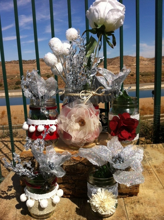 Items Similar To December Wedding Decor Rustic Christmas