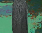 90zTRASHBAG CHIC drawstring dress