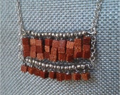 Long Goldstone Necklace