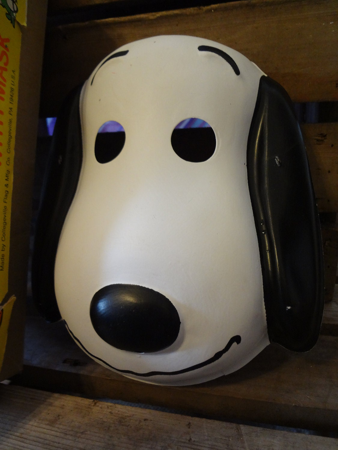 Snoopy Mask With Box 70 S Ben Cooper Costumes