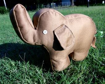 ON SALE! Mocha the Brown Elephant
