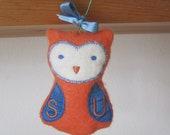 Syracuse University Owl Ornament