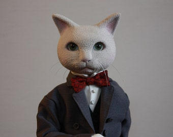 "Cat doll -  Barron from ""Whisper of the Heart"" -"