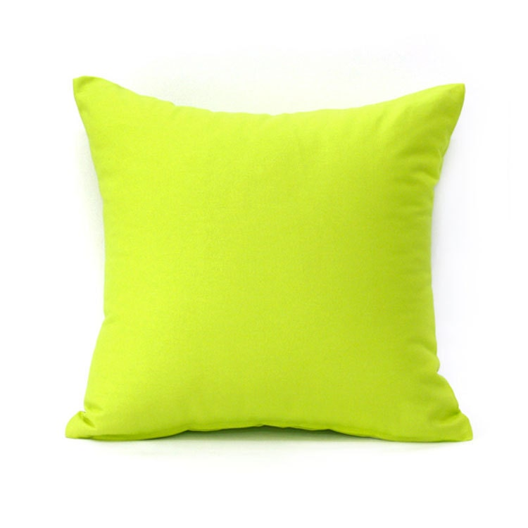 Throw Pillow Etsy : 18 X 18 Solid Lime Green Throw Pillow Cover by BHDecor on Etsy