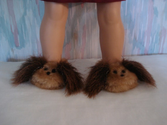 """American Girl 18"""" Doll Clothes - Puppy Dog Slippers DYD033"""