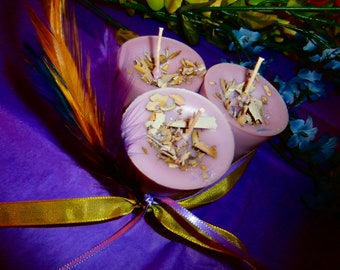 Blackberry and Sage Soy Votive Candles