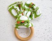 Happy Little Frogs Floppy Ear Teether