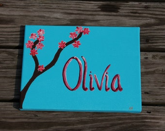 Blossoming Tree/Name Painting