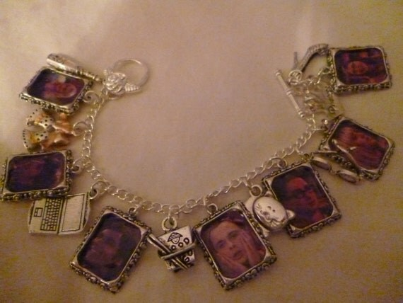 The Big Bang Theory charm bracelet REDUCED HALF PRICE