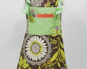 "The ""Lanie"" Customizable Girl's Apron by Little Lilly LuLu - Free Shipping"