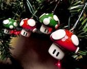Christmas Ornament Bundle - Super Mushroom