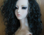 "8.5"" Sea Witch II  Mohair Wig Made to Order"