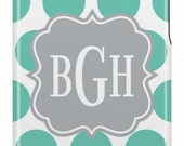 Personalized Monogrammed iphone cover, case, iphone4, iphone4s, iphone 3g/3gs, ipod touch 4g