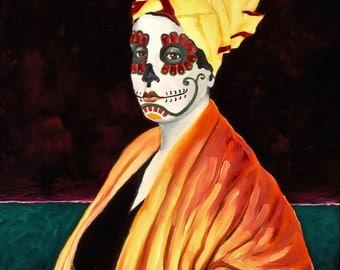 "Marie Laveau, Dia de los Muertos 8""x10"" Photo Reproduction"