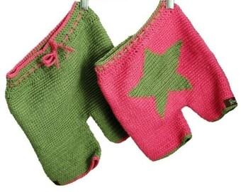 INSTANT DOWNLOAD Crochet Pattern for Baby PDF Star Shorties or Longies by Kristie Lynn