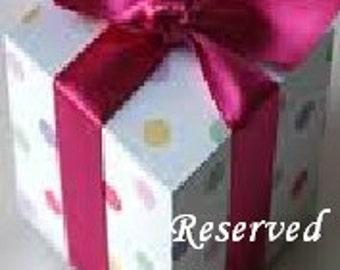 Reserved Shot glass order