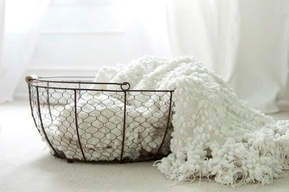 Vintage Reproduction Egg Basket