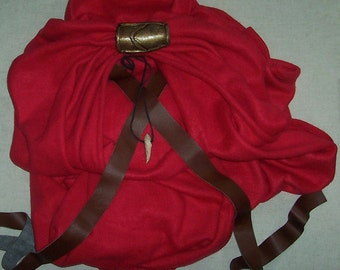 Spartan Cape from 300 - King Leonidas - CAPE ONLY - Option for Straight Hem or Battle Damage