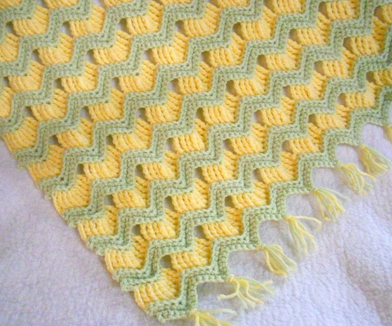 Crochet Patterns Ripple : Crochet Pattern Grandmas Ripple Baby Afghan
