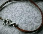 Brown Seahorse Bracelet