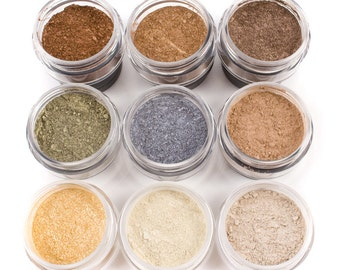 50% off Christmas in July | Mineral Eye Shadow - 9pc FALL COLLECTION - Mineral Makeup