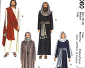 McCalls 2060 Costume Sewing Pattern Christmas Story, Passion Play, Jesus, Wiseman King Adult 40-42 Large Roman guard
