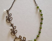 nature and romance indie necklace