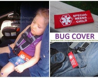 Emergency Medical Information Cover  - Special Needs Child