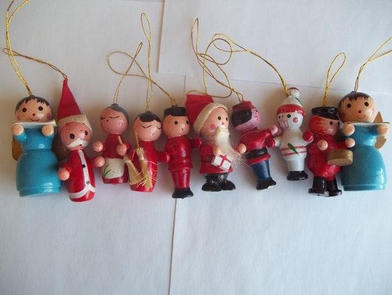 Vintage Wooden Ornaments 20