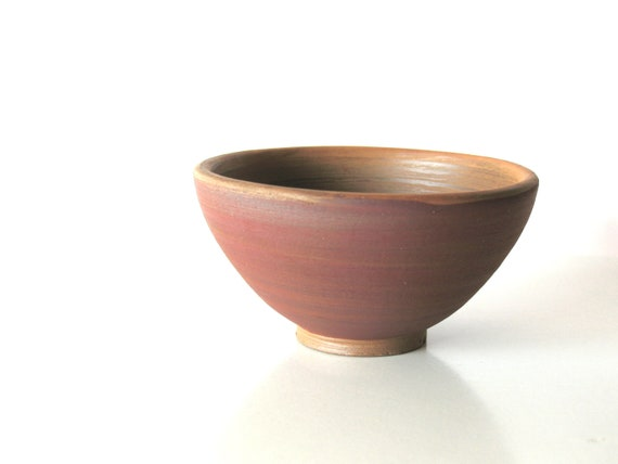 autumn tribal decor - wheel thrown bowl - ethnic ceramics - pottery bowl - native decoration