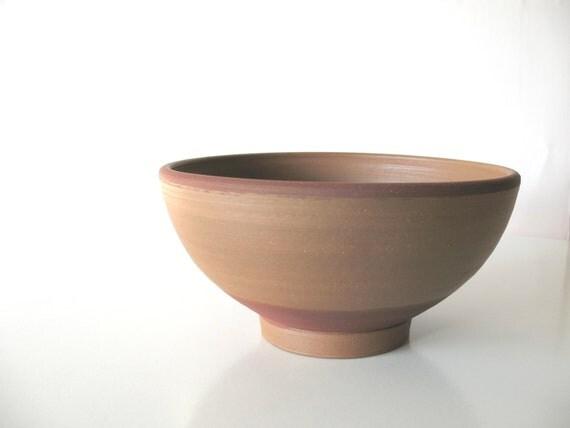 pottery bowl - wheel thrown bowl - ethnic ceramics - tribal home decor - shabby chic
