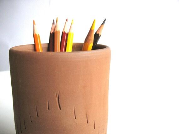 ceramic vase - back to school - unglazed ceramic vase - tribal vase - native home decor - ready to ship