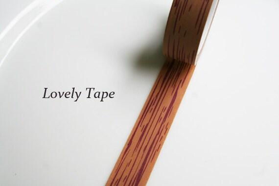wood washi tape. Black Bedroom Furniture Sets. Home Design Ideas