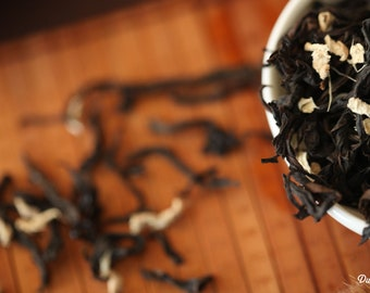 Loose Whole Leaf Tea - Oolong Tea - Ginger Gold Phoenix