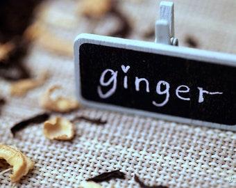 Loose Leaf Tea Black Tea - Ginger Lapsang Souchong