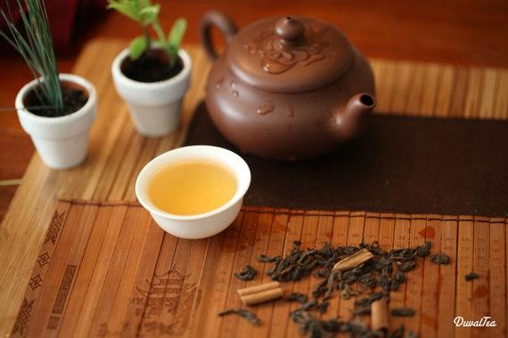 Pu-erh Tea -  Cinnamon Pu-erh Loose Leaf Tea Premium Level NET 1.1 Oz /30 grams