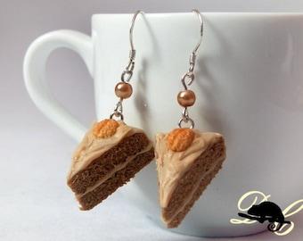 Coffee Cake Earrings (In Stock)