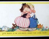 Vintage Postcard. Mabel Lucie Attwell. Lov-er-ly...