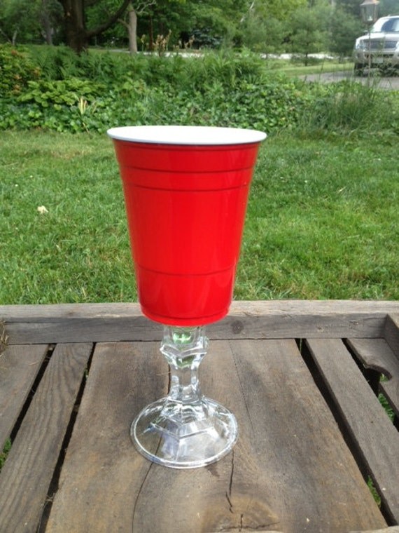 Red Solo Cup Wine Glass Redneck With Style By Stylishcountry