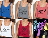 One Direction Colored Signature Tank