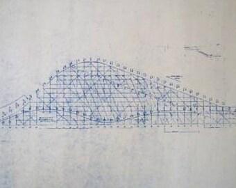 Coney Island Rollercoaster Blueprint